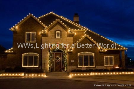 Christmas decoration light-Christmas tree light-Santaclaus-reindeer-LED snowman 4