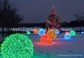 Christmas decoration light-Christmas tree light-Santaclaus-reindeer-LED snowman 5
