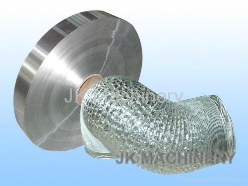 Laminated aluminum foil for flexible duct 1