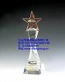 中山水晶獎杯 4