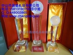 廣州水晶獎杯