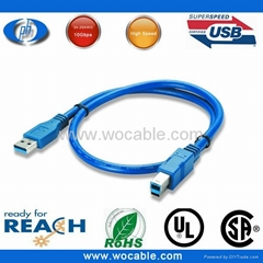 High Quality USB 3.0 Cable - A Male to B Male