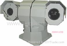 PTZ dual video termal camera