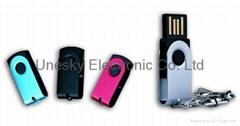 Metal Swivel USB Flash Drive