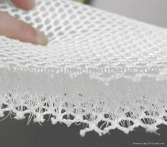 3D mesh fabric 100% polyester eyelet good compression stiffness