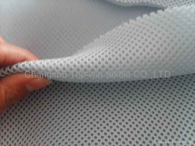 polyester knitted air mesh eyelet fabric 1