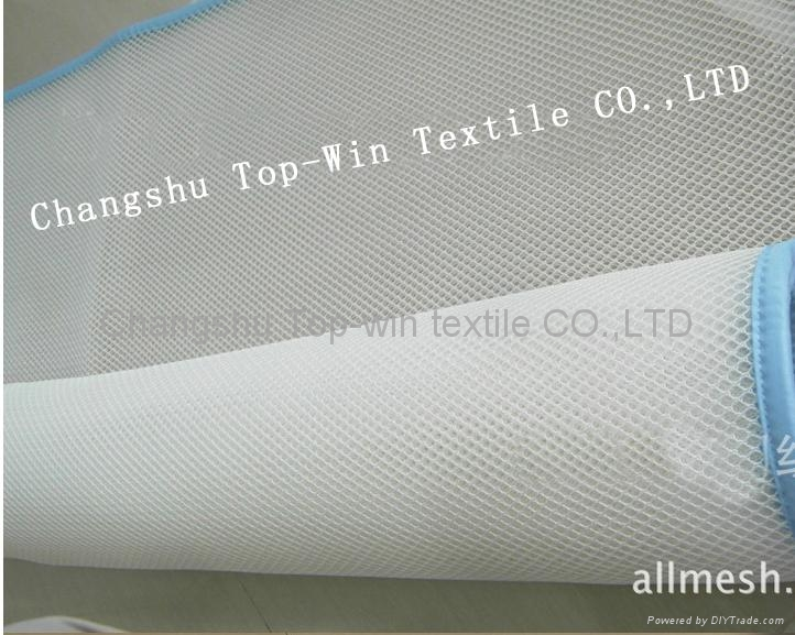 3D cushion fabirc 100% polyester SGS test eyelet style 2