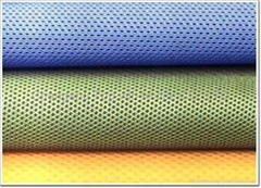 100% polyester eyelet air mesh fabric