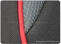 baby seat fabric polyester breathable knitted mesh fabric 3