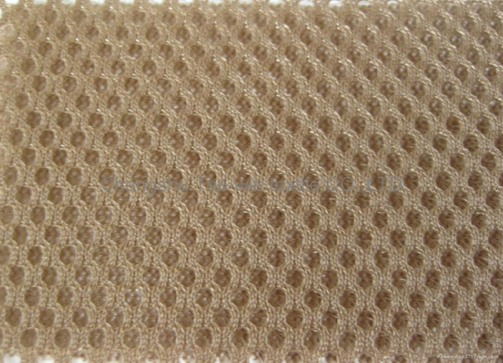 baby seat fabric polyester breathable knitted mesh fabric 4