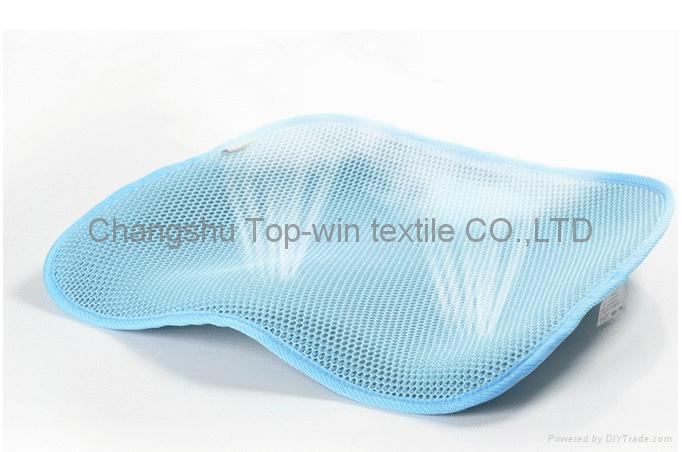 3D mesh fabric 100% polyester eyelet good compression stiffness 1