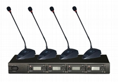 UHF wireless conference system/wireless microphones