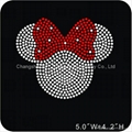 Minnie Mouse Rhinestone Transfers Motif