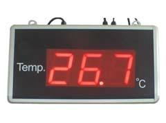 大屏幕單溫度顯示屏