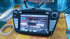 2 din in dash IX35 quod core car audio vedio