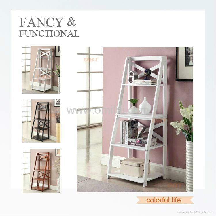 ... Hot Sell 4 Ladders Book Shelf With New Design For Home And Office 3 ...