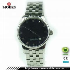 高檔防水不鏽鋼男士商務手錶廠家專業定製歡迎OEM