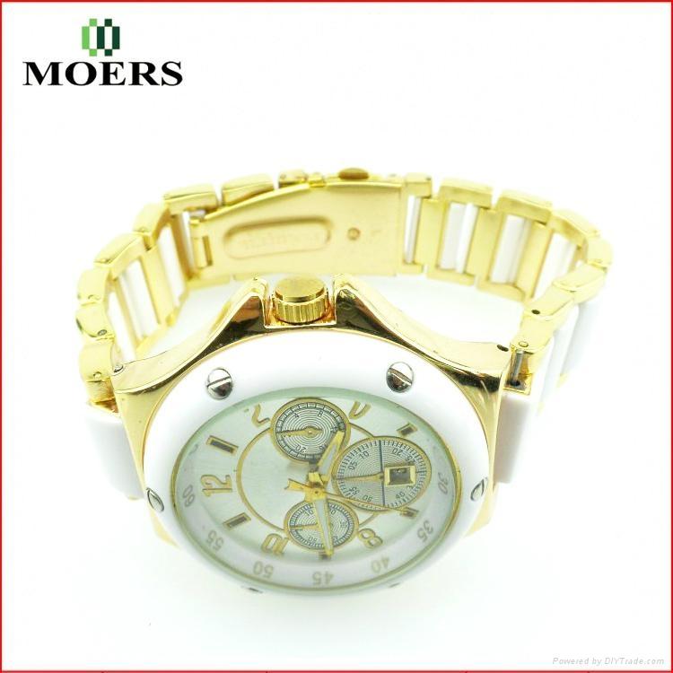 女士合金時裝手錶淑女氣質優雅女表禮品高檔手錶批發訂製 3