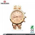 合金套裝女士鑲鑽手錶