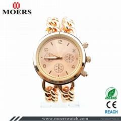 合金套装女士镶钻手表