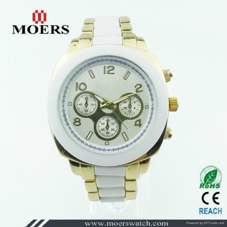深圳手表厂家专业生产中高档套装礼品手表 1