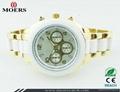深圳手表厂家专业生产中高档套装礼品手表 3