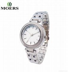 手錶廠家專業合金表訂製女士禮品手錶套裝休閑時尚表