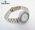 手錶廠家專業合金表訂製女士禮品手錶套裝休閑時尚表 2