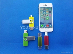 2013 The most popular usb flash drive for smartphone