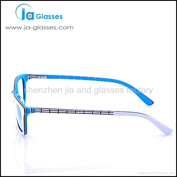 High Quality Bright Color Acetate Optical Frames Reading Glasses Manufactured in 3