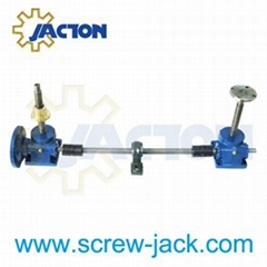 worm gear motorized screw jack lifting platform supplier