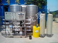 2噸單級反滲透水處理設備