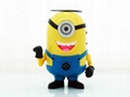 Carton portable mini speaker Despicable Me2 The Lorax Minions mini speaker