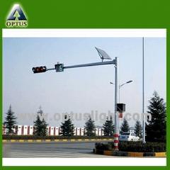 Solar traffic light system, solar led traffic signal