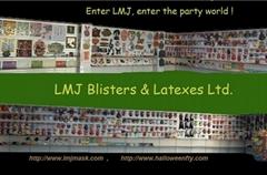 LMJ latex mask factory