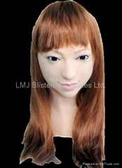 Realistic female mask