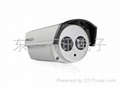 东莞海康威视580线红外防水筒型摄像机