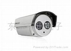 东莞海康威视600线单灯红外防水筒型摄像机