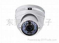 东莞海康威视600线变焦红外防水半球型摄像机