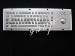 IP65 Industrial  kiosk keyboard  size 392*110(mm)