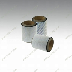 BOPP holographic film for lamination and printing