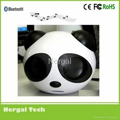 portable panda speaker with SD card