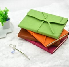 pu notebook with binding