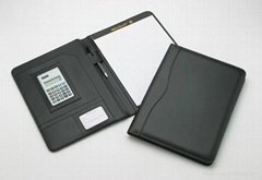 patent leather  portfolio/folder