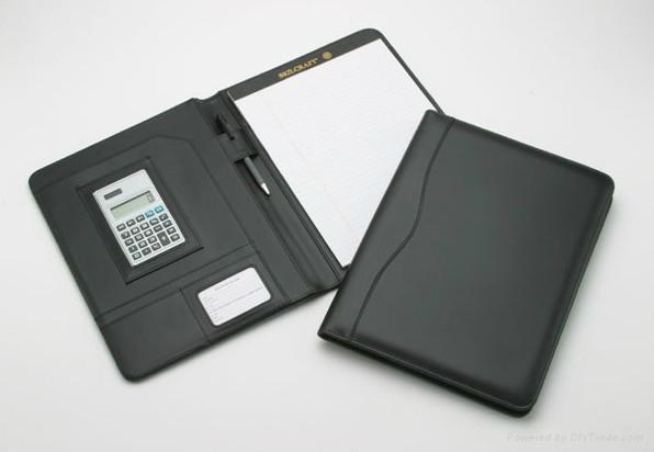 patent leather  portfolio/folder 1