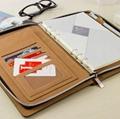 patent leather  portfolio/folder 3
