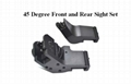 Ar15 Front and Rear 45 Degree Rapid