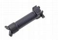 Tactical Gear Military Steel Inserted Leg Grip+Bipod+Side Rail Rifle ForeGrip  2