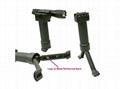 Tactical Gear Military Steel Inserted Leg Grip+Bipod+Side Rail Rifle ForeGrip  5