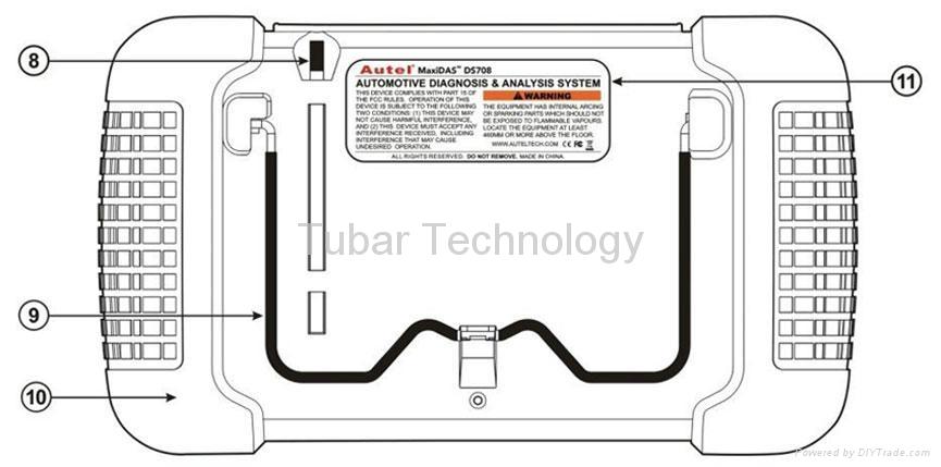 MaxiDAS® DS708 Original DS708 Autel Auto Diagnostic Tool 2
